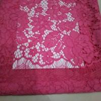 Jual Brokat cord paris ( panelan) cotton 100% Murah