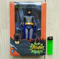 Jual MAINAN ACTION FIGURE BATMAN MOVIE 1966 TV SERIES ADAM WEST NECA Murah