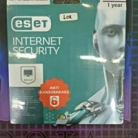 Jual Internet Security Eset 3user - 1 Year Original Murah
