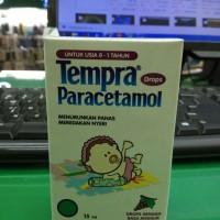 TEMPRA DROPS PARACETAMOL SYRUP 15ml