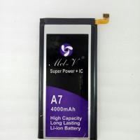 Baterai Double Power + IC Samsung Galaxy A7 Batre Original Mel-V