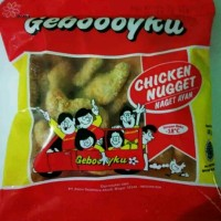 Nugget Ayam Gebooyku / Geboy kemasan 1000gr / 1KG