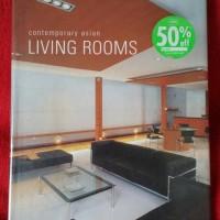 Buku Contemporary Asian Living Rooms Second Book