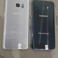 Samsung S7 EDGE 32GB hanya minus LCD tompel rapi mulus bgt segel mesin
