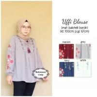 baju muslim atasan model terbaru terkini bluss blouse muslimah keren