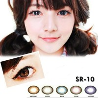 SOFTLENS DUEBA TIFFANI KOREAN - SR 10 BROWN