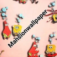 Wallpaper Dinding Anak Kartun Spongebob Patrick