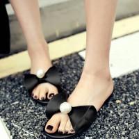 Jual grosir sepatu wanita murah online SANDAL WANITA SELOP BUNNY MUTIARA H Murah