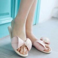 Jual grosir sepatu wanita murah online SANDAL WANITA SELOP BUNNY MUTIARA P Murah