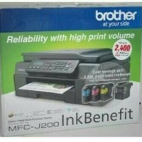 PRINTER BROTHER MFC-J200 MULTIFUNGSI