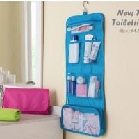 Jual WVN6 Hanging Toiletries Bag Organizer Tas Kosmetik Travel Bag toilet Murah