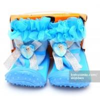 Jual  Skidders Rubber Flexible Shoes  Blue Elsa T2909 Murah