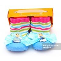 Jual  Skidders Rubber Flexible Shoes  Blue Doll T2909 Murah
