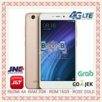 Jual REDMI 4A 2/16 GB - INTERNAL 16GB - RAM 2GB - ROSE GOLD Murah