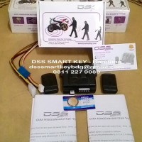 DSS Smart Key - Alarm Pengaman Motor Anti Maling & Begal