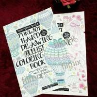 Jual Buku mewarnai secret garden fun and joy coloring book Murah