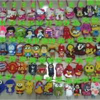 Jual handgel karakter hello kity hand sanitizer minion stitch pooh rilakuma Murah