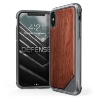 Jual X-doria iPhone X Case Defense Lux - Wood Murah