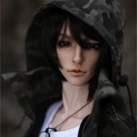 1/3 BJD Doll Shuga Fairy Sabik Idealian Soom ID75 Body White Skin