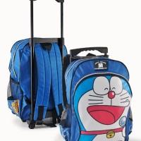 tas trolly dorong , tas gendong sekolah , tas kopet anak boneka jv