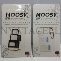 Jual Noosy Sim Card Adapter (Nano / Micro / Mini Sim / Injector / 4 In 1)  Murah