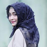 Jual Syal & Scarf Almeira Hijab Square Linen Lux Tassel - HLIN21 Murah