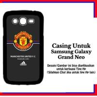Casing Samsung Galaxy Grand Neo manchester united Adidas Custom Hardca