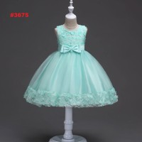 DRESS PESTA ANAK TOSCA BABYDOLL VARIASI FLOWERS KECIL (RSBY-3675)