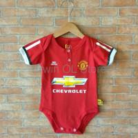 Jumper Baju Kaos Bola Bayi Anak Perempuan Laki Lucu I Manchester Unit