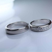 Jual cincin nikah palladium 35%  Murah