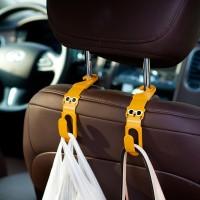 Jual Termurah CA033 2PCS GANTUNGAN MOBIL CAR HANGER CARTOON RILAKKUMA HOOK Murah