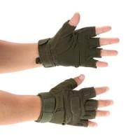 Jual Sarung Tangan Motor Half Finger Setengah Tangan - Size L Limited Murah