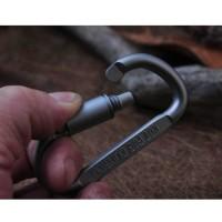 Jual Termurah Outdoor Quickdraw Carabiner Buckle Hanging Aluminium / Murah