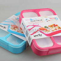 Jual DISKON 579 NEW Lunch Box Kotak Makan Yooyee 3SEKAT kotak bekal Anti B Murah