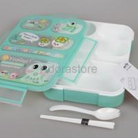 Jual DISKON 590 BARU 5SEKAT Lunch Box Kotak Makan Yooyee kotak bekal Anti Murah