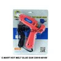 Jual Two-Step Hot Melt Glue Gun C-Mart Tools  CC0019-60100   Murah
