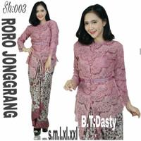 Jual Setelan Wanita / Brokat Modern / Brukat Premium / Kebaya / Batik Murah