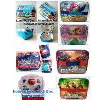 Jual Lunch Bag Karakter Anak Cowok model tenteng (bento) Murah
