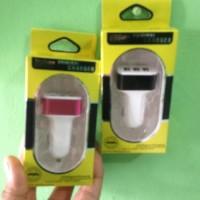Jual PORT USB CAR CHARGER - CASAN 3 IN 1 Diskon   Murah