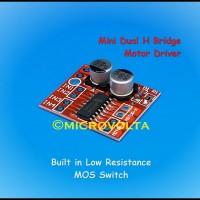 Jual Mini Dual DC Stepper Motor Driver Module Murah