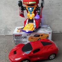 Jual mainan mobil robot Transformers bump & go - anak edukatif - edukasi Murah