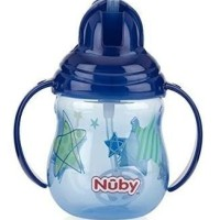 NUBY 360 Soft flex flip-it straw