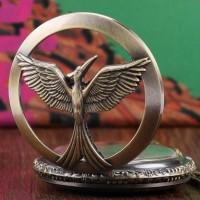 Jual CUCI GUDANG Kalung Jam Pocket Vintage Hunger Games ((( MURAH )) Murah