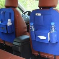 283 Aksesoris Mobil Car seat Tas Multifungsi di pasang di belakang jok