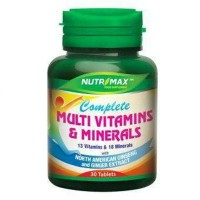 Nutrimax Complete Multi Vitamins & Mineral 30s