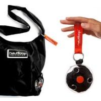 Jual Nautiloop Roll Up Shoulder Shopping Bag / Tas Kantong Belanja Gulung Murah