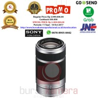 Jual Sony E 55-210mm F/4.5-6.3 Telephoto Lens Limited Murah