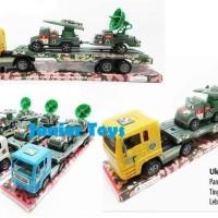 Promo Mainan Mobil Army Truck + Radar + Roket