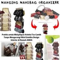 Jual Purse Store Hanging handbag organizer tempat tas scarf topi HPR039 Murah
