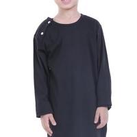 TDLR Baju koko Muslim Anak Laki-Laki Hitam - T 1118